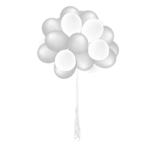 Tros van 25 heliumballonnen