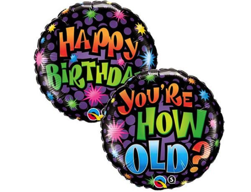 You Are How Old