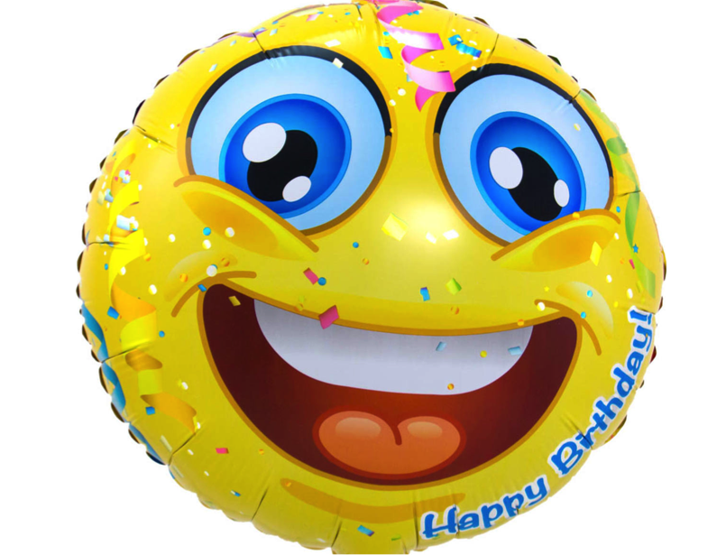 Emoticon Happy Birthday