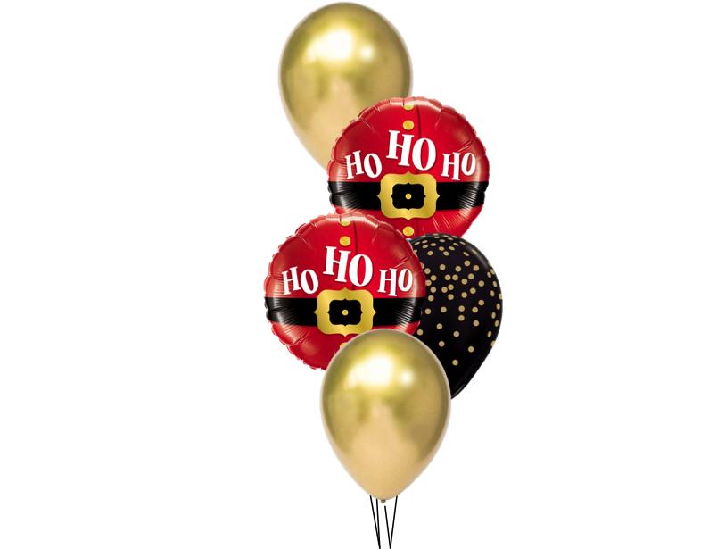 Ballonboeket Ho Ho Ho