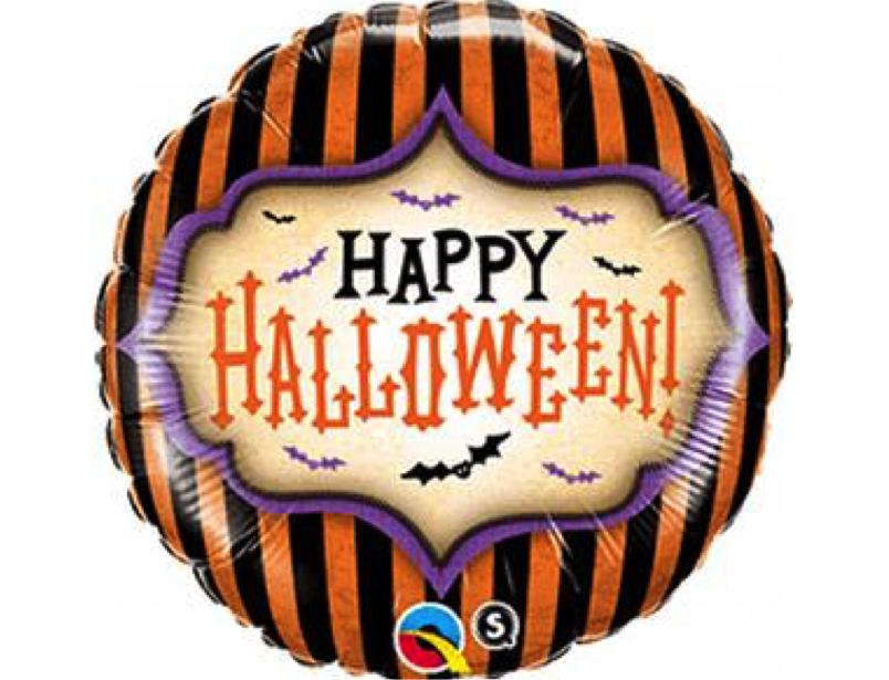 happy halloween stripes