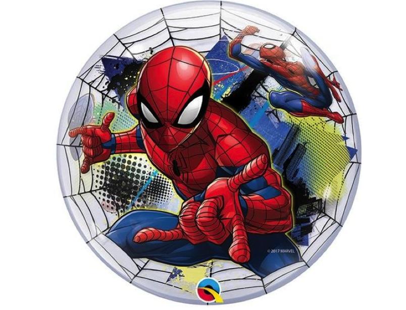 Spiderman Bubble