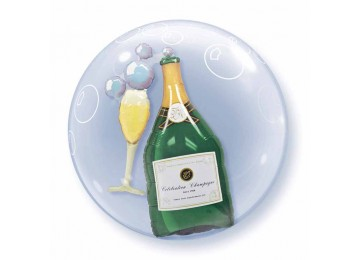 Double Bubble Champagnefles
