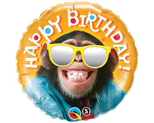 Birthday Smiling Chimp