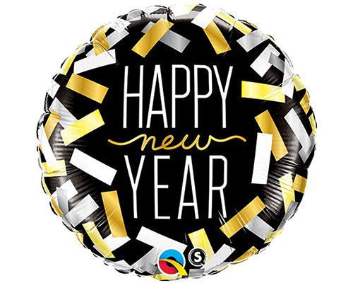 New Year Confetti Strips