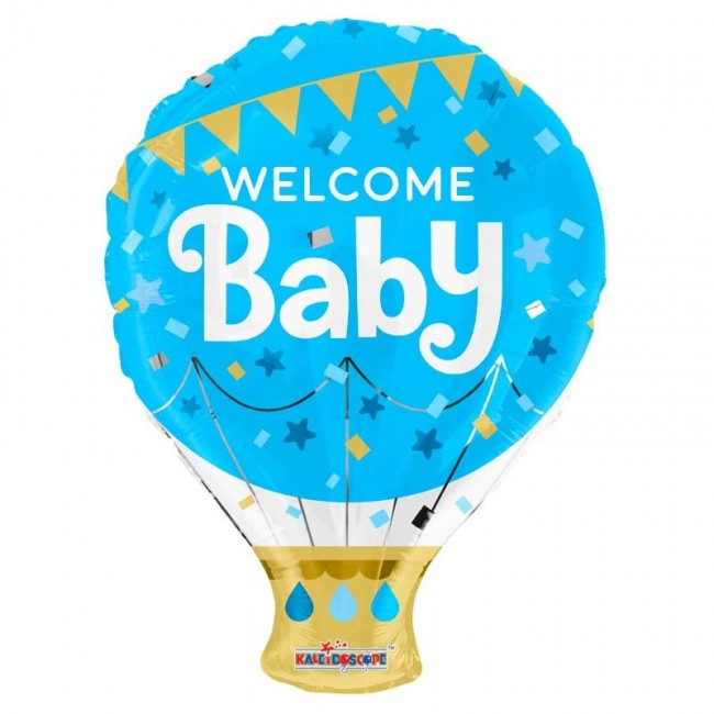 Welcome baby boy luchtballon