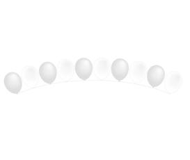 Zwevende Heliumballo...