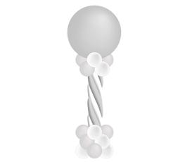 Ballonpilaar Swirl