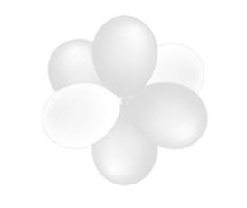 Toef van 6 ballonnen